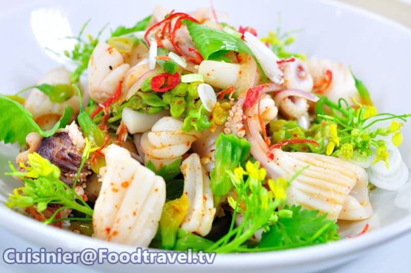 Spicy Squid Salad