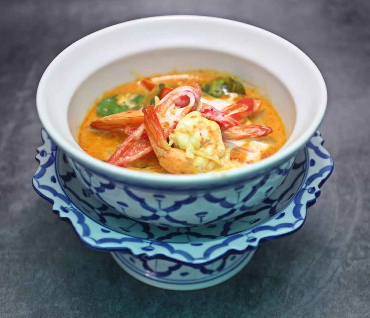 Seafood Panang Curry