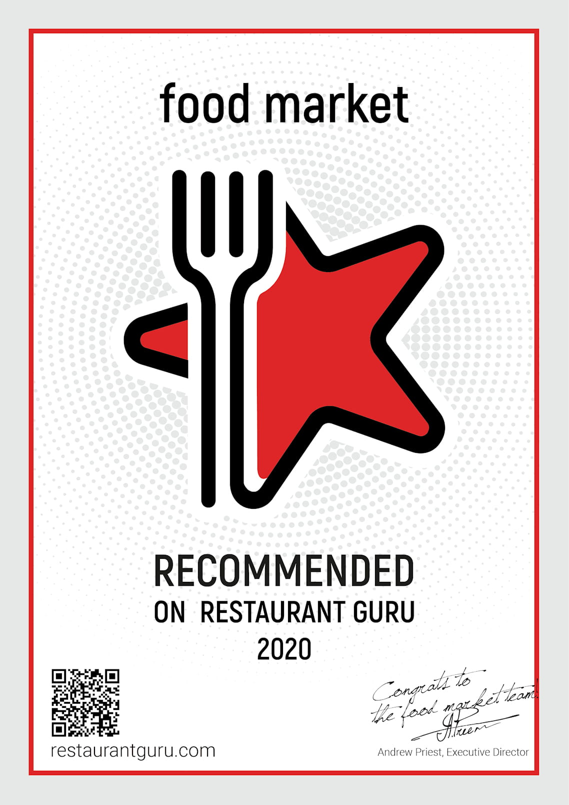 Food Market Kata is recommended by Restaurant Guru